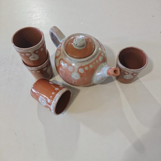 Teapot set united