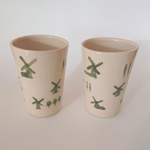 Windmills cups