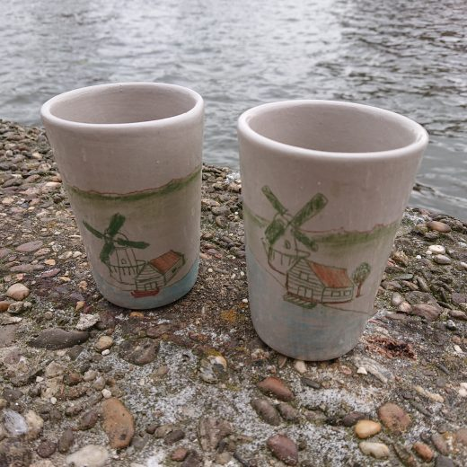 Two cups at the Zaan