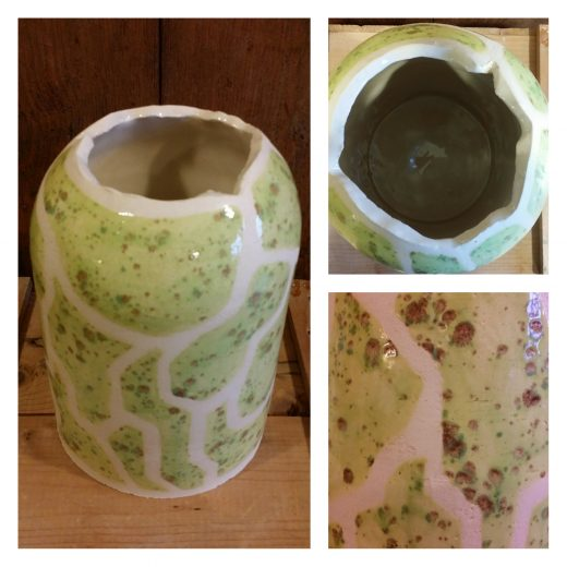 Melon vase