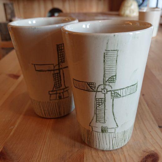 Windmill cups