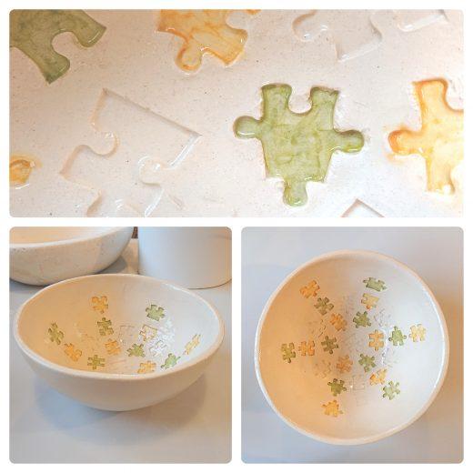 Puzzle bowl