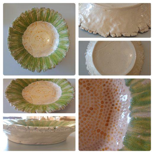 Sunflower plate