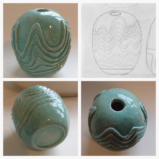 Hand size vase #2
